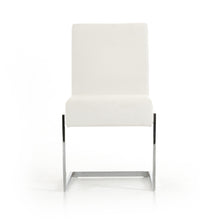 Load image into Gallery viewer, Batavia - Modern White Leatherette Dining Chair (Set of 2)