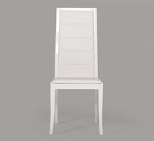 Load image into Gallery viewer, Donna - Contemporary White Leatherette Dining Chair (Set of 2)