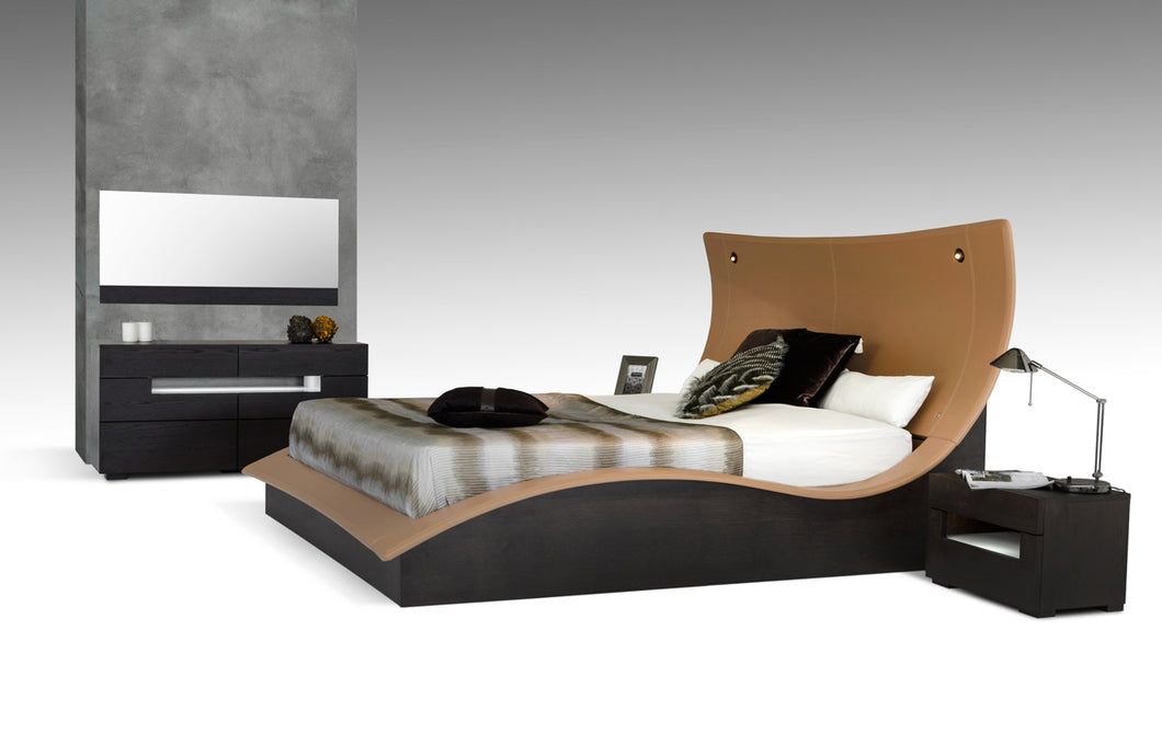 Modrest Hercules Modern Bed w/ Lights