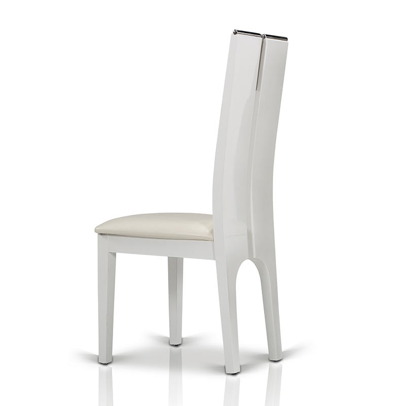 Modrest Maxi White Gloss Chair (Set of 2)