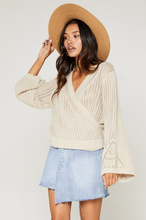 Load image into Gallery viewer, Across The Room Sweater-Sage The Label