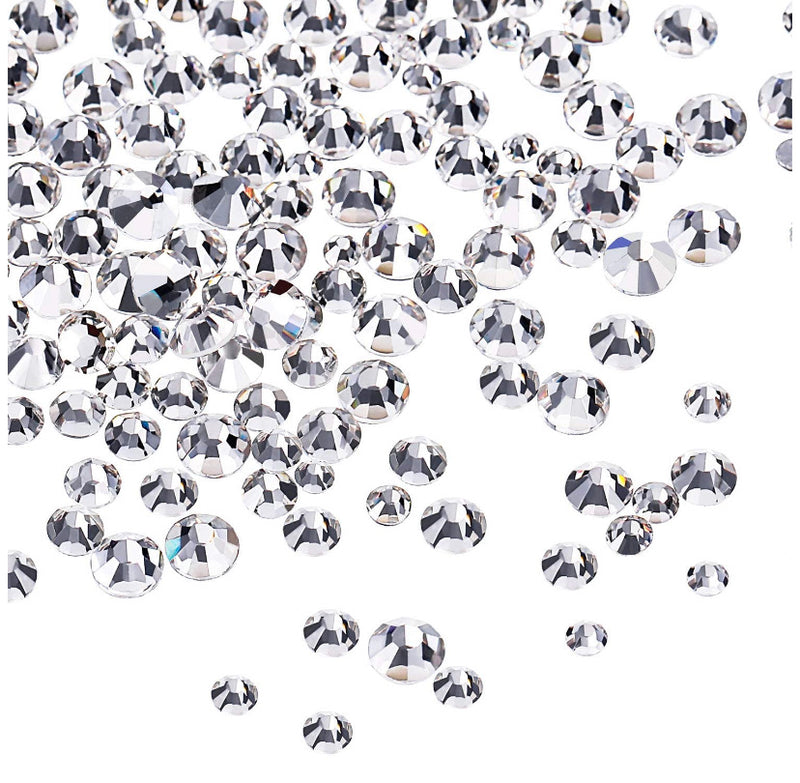 Authentic Clear Swarovski Crystals ( 3,456 pcs) - Express White