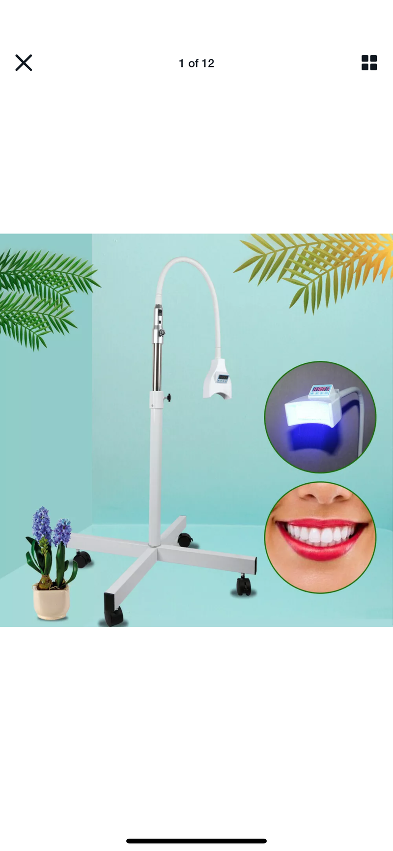 Mobile Teeth Whitening Machine - Express White