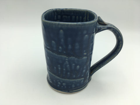 Tall square mugs