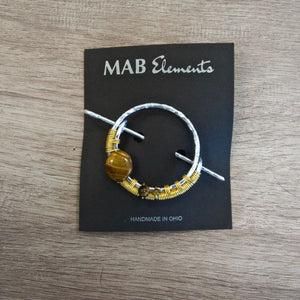 MAB Elements Shawl Pin