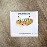 Wooden Stitch Markers