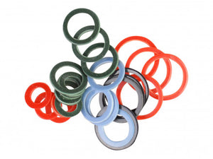 Flat Ring Stitch Markers