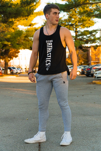 Over Sized Vertical Tank Top