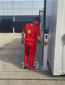Automatic Hand Sanitiser Station Gel Only *AS SEEN ON DRIVE TO SURVIVE AT SILVERSTONE GRAND PRIX 2020*