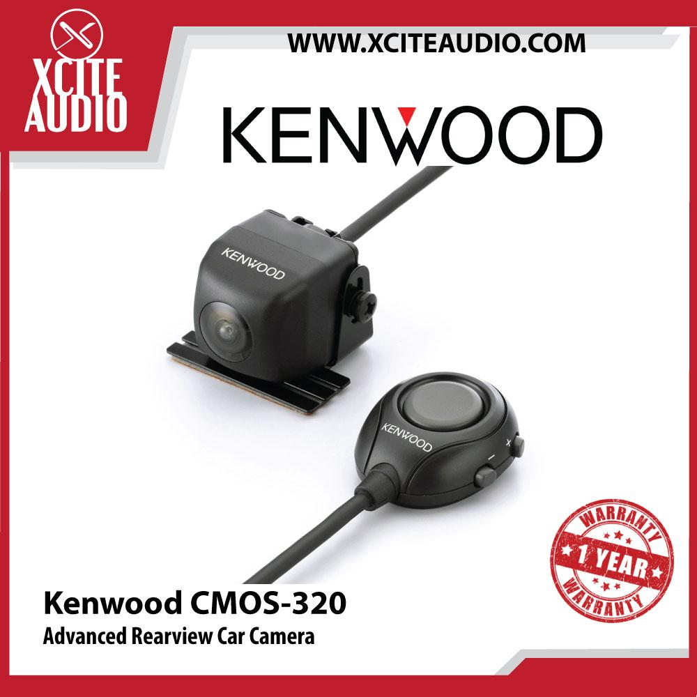 "Kenwood CMOS-320 1/3.6"" Colour CMOS Sensor Advanced Rear View Car Camera - Xcite Audio"