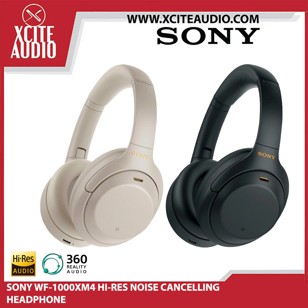 [READY STOCK] SONY WH-1000XM4 Wireless Noise Cancelling Headphones - Xcite Audio