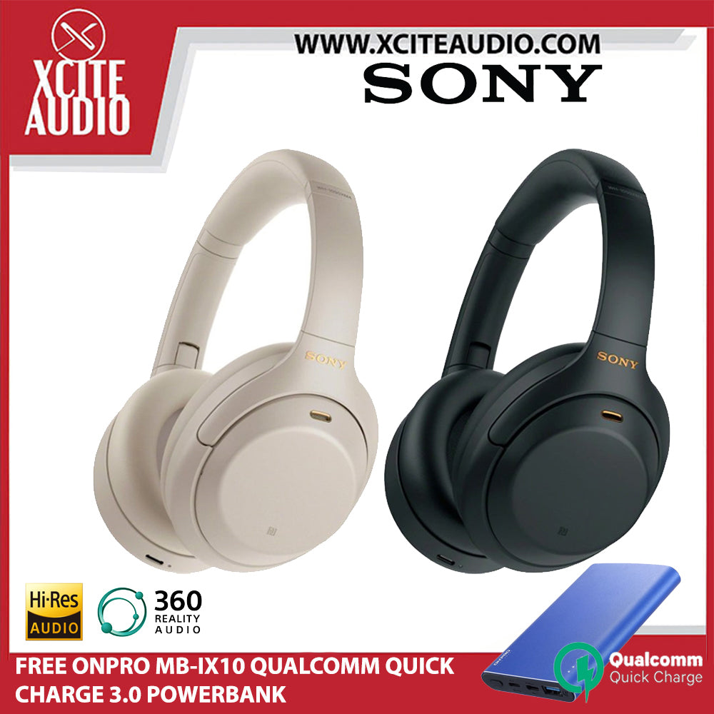 [READY STOCK] SONY WH-1000XM4 Wireless Noise Cancelling Headphones - FREE POWERBANK - Xcite Audio