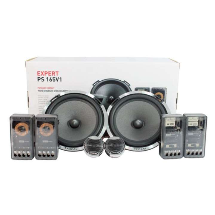 "Focal Performance PS 165V1 Expert Series 6.5"" 2-Way 160 Watts Component Car Speakers - Xcite Audio"