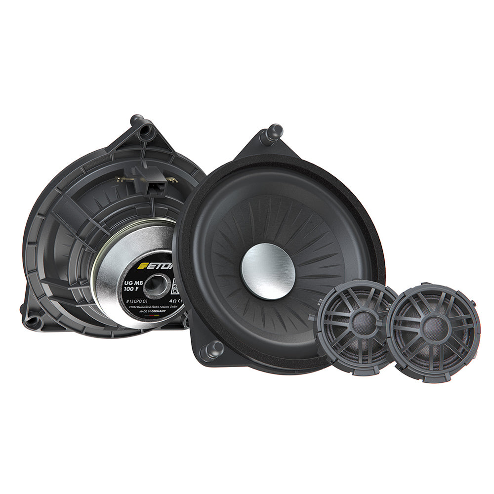 "ETON MB100F 4"" 2-Way Mercedes Benz Fully Plug and Play Component Car Speakers - Xcite Audio"
