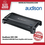 Audison SR1 DK Monoblock 640W RMS Power Amplifier with Crossover Car Amplifier - Xcite Audio