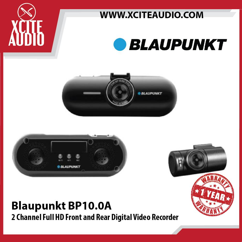 Blaupunkt BP10.0A 2 Channel Full HD Front and Rear Digital Video Recorder