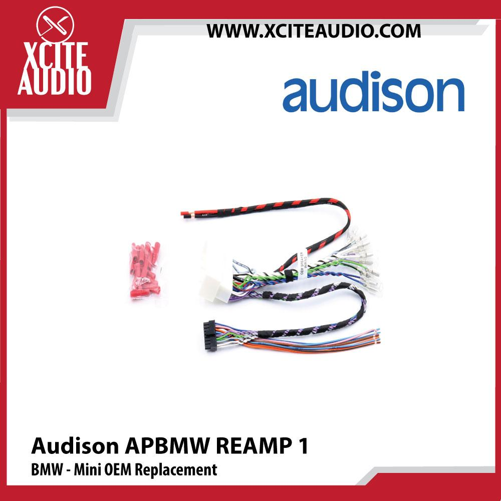 Audison APBMW REAMP 1 BMW - Mini OEM Replacement Plug & Play Cable - Xcite Audio