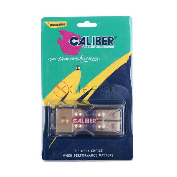 Caliber 3024 MANL 0/4/2/8 Gauge Power Cable 1 To 2 Fuse Holder With 60A Fuse