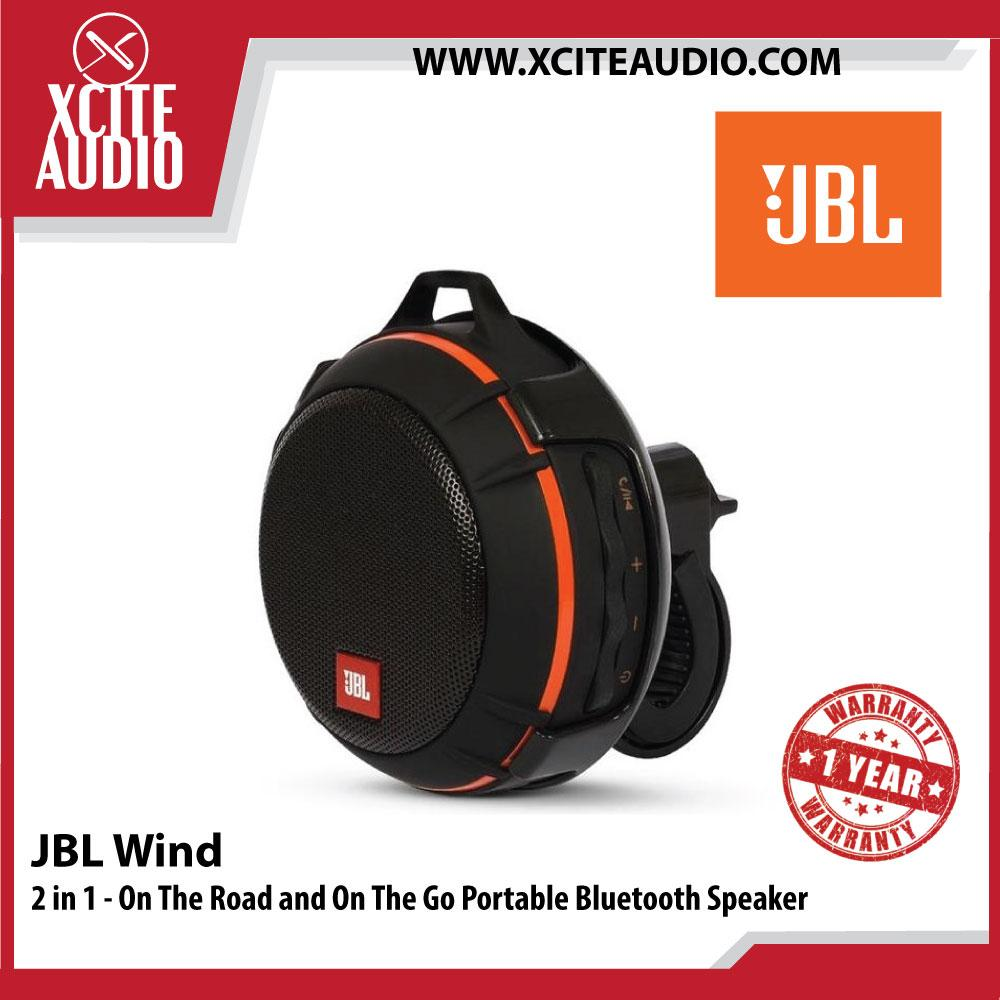 JBL Wind 2 in 1 - On The Road and On The Go Portable Bluetooth Speaker - Xcite Audio