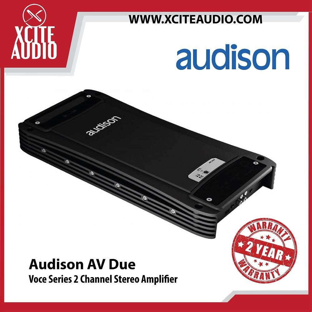 Audison Voce Series AV Due 2 Channel Car Amplifier