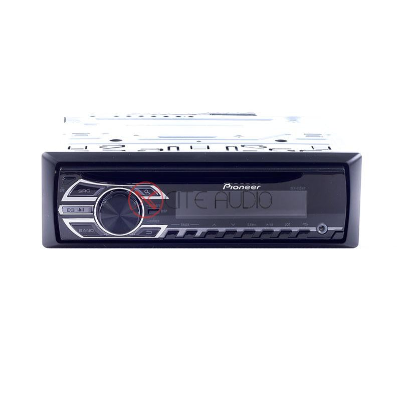 Pioneer DEH-155MP Single Din CD/MP3/WMA/WAV Receiver with Front AUX Car Headunit - Xcite Audio