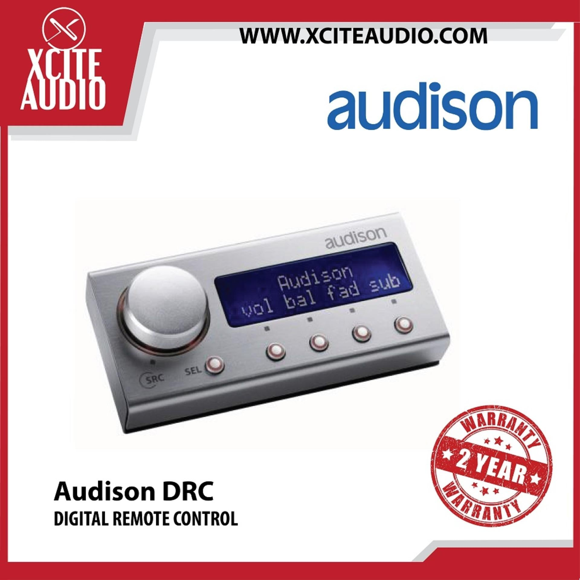 Audison DRC Digital Remote Control - Xcite Audio