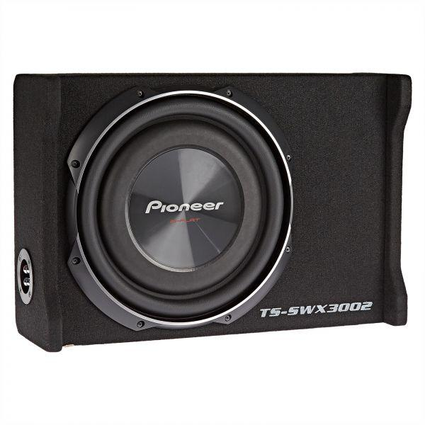 "Pioneer TS-SWX3002 12"" 1500W Peak Shallow-Mount Pre-Loaded Enclosure Car Subwoofer"