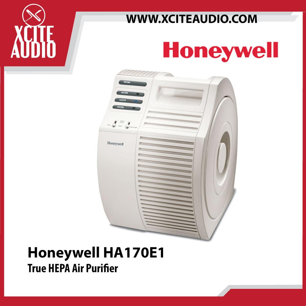 Honeywell HEPA HA170E1 86 Watts 99.97% Filtration Rate Air Purifier - Xcite Audio