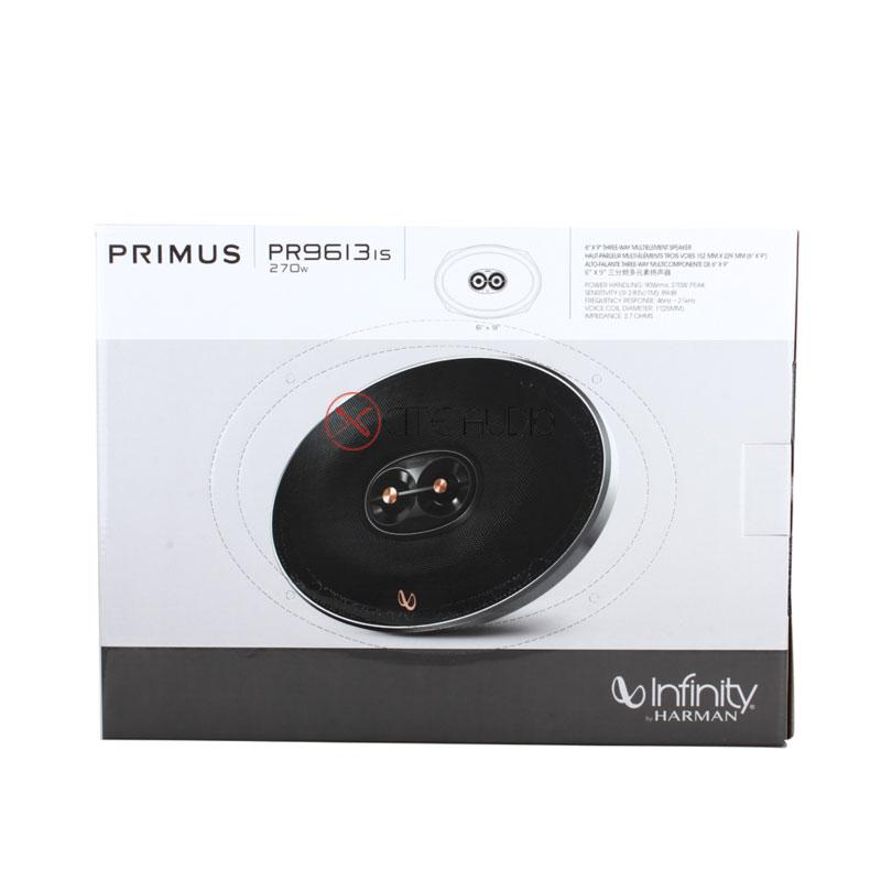"Infinity PR9613is 6"" x 9"" Primus-Series 3-Way 270W Coaxial Car Audio Speakers"
