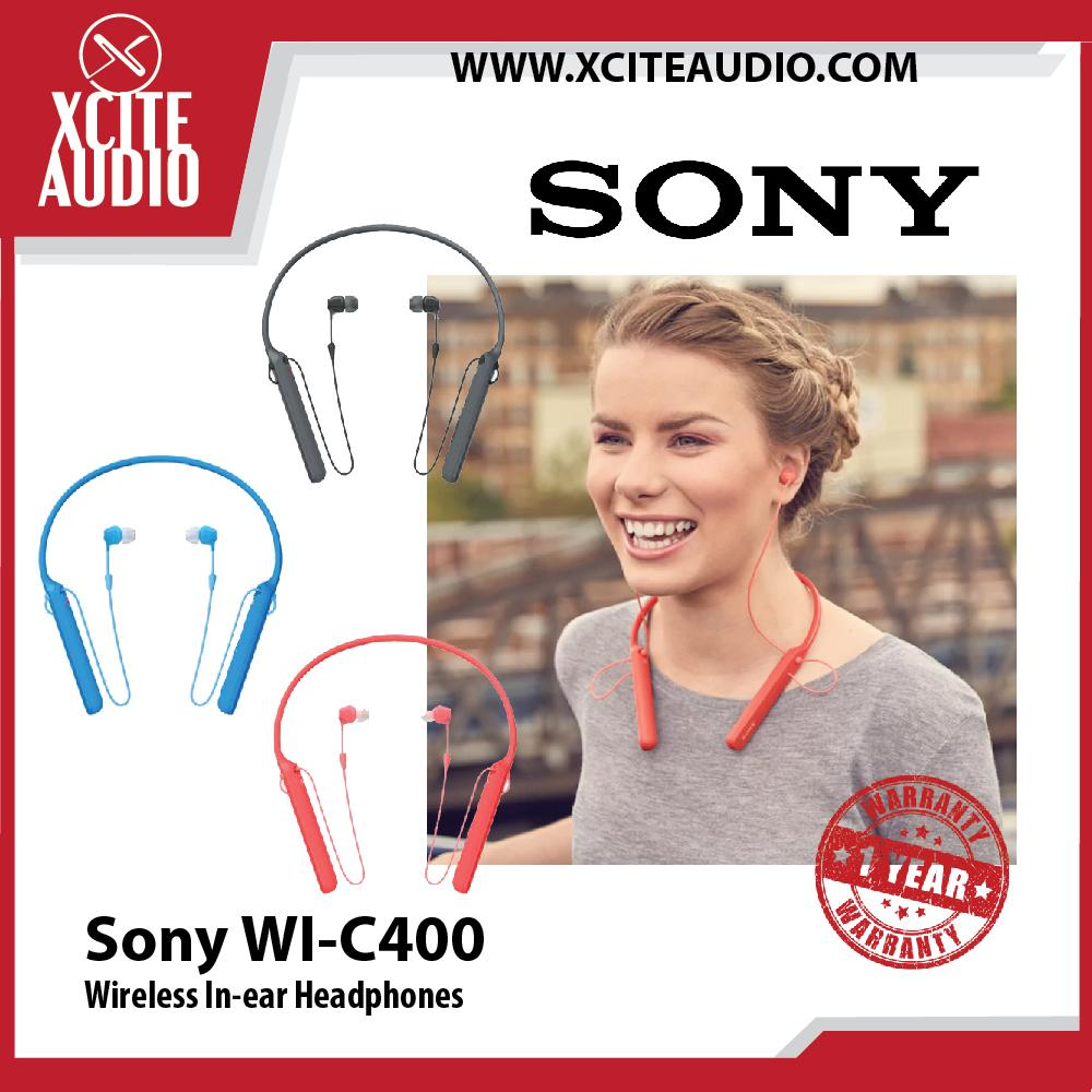 Sony WI-C400 Vibration Notification Wireless Bluetooth In-ear Headphones - Xcite Audio