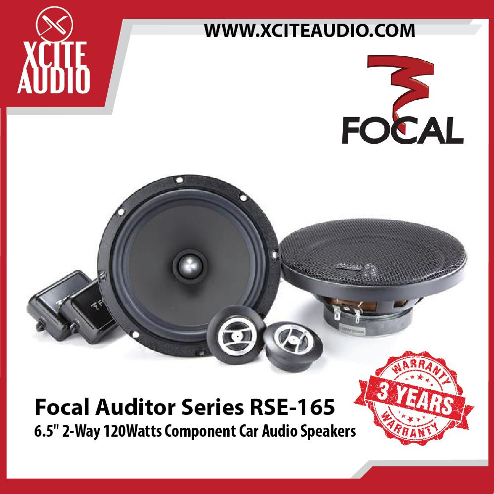 "Focal RSE-165 6.5"" 2-Way Auditor Series 120Watts Component Car Speakers - Xcite Audio"