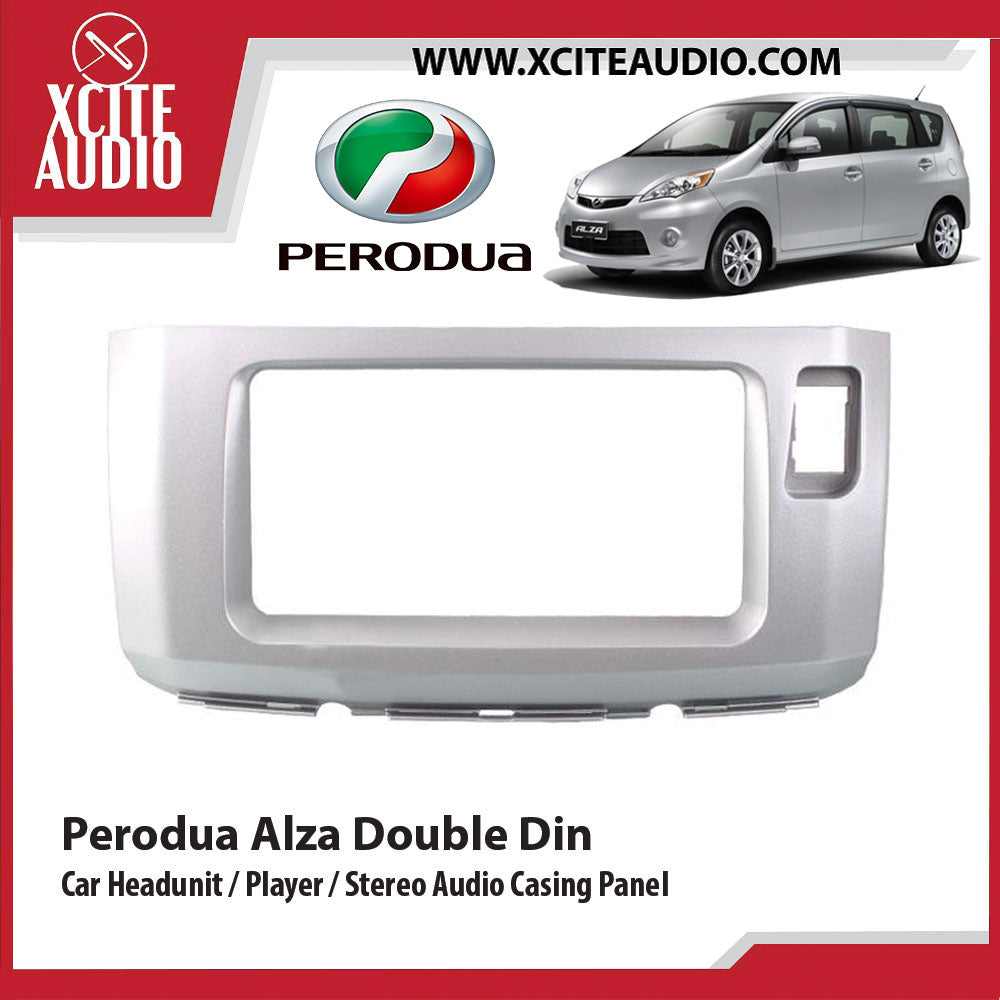 Perodua Alza Double Din Car Headunit / Player / Stereo Audio Casing Panel - Xcite Audio