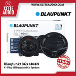 "Blaupunkt BGX1404N 4"" 4-Way 60W Quadaxial Coaxial Car Speakers - Xcite Audio"
