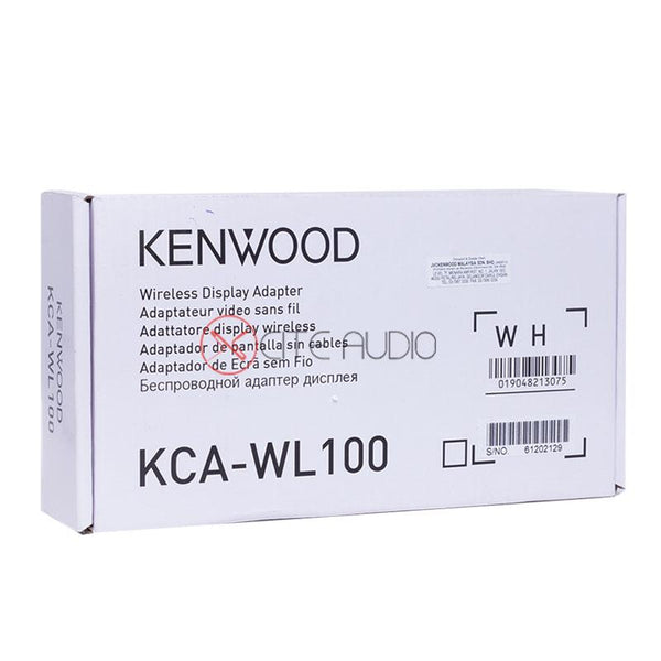 Kenwood KCA-WL100 Wireless WIFI HDMI Mirroring Adapter Unit