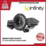 "Infinity REF-6530CX 6.5"" 2-Way 270W Peak Car Component Speakers - Xcite Audio"