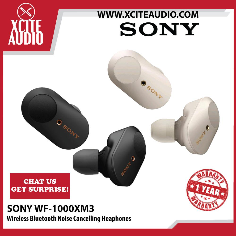 [SONY MY] Sony WF-1000XM3 Wireless Bluetooth Leading Advance Noise Cancelling Headphones (Fast Shipping & Ready Stock) - Xcite Audio