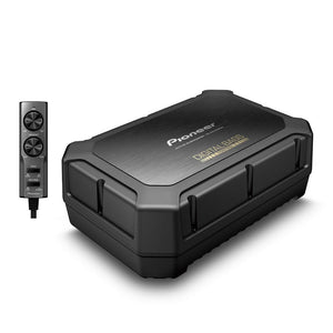 Pioneer TS-WX400DA 250W Peak Built-in Class-D Amplifier Sealed Active Car Subwoofer - Xcite Audio
