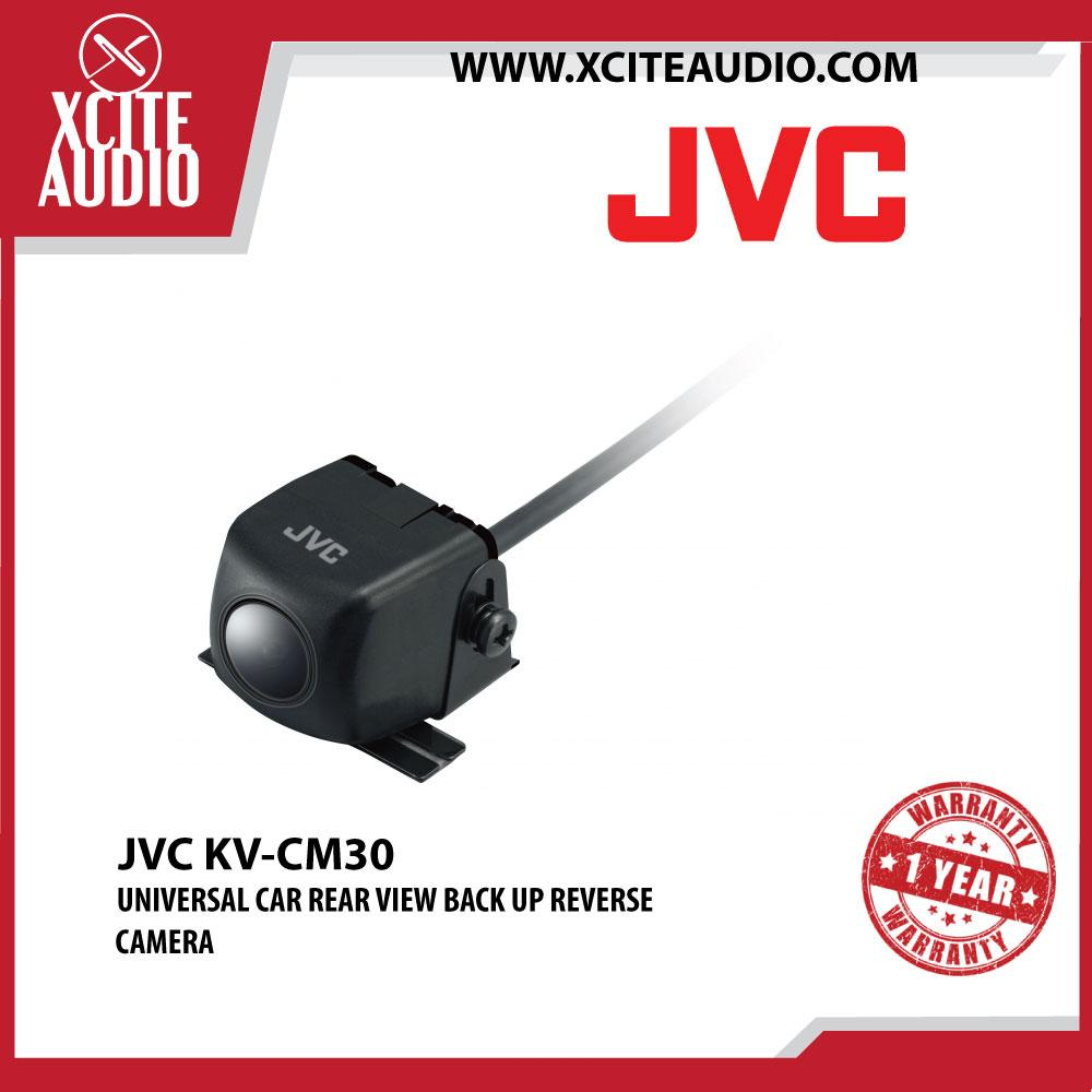 JVC KV-CM30 Universal Car Rear View Back Up Reverse Camera Color CMOS Sensor - Xcite Audio