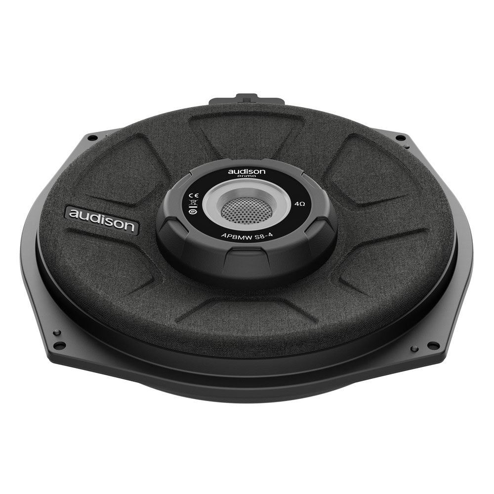 "Audison Prima APBMW S8-4 8"" 300W Peak BMW-MINI Plug & Play Car Subwoofer - Xcite Audio"