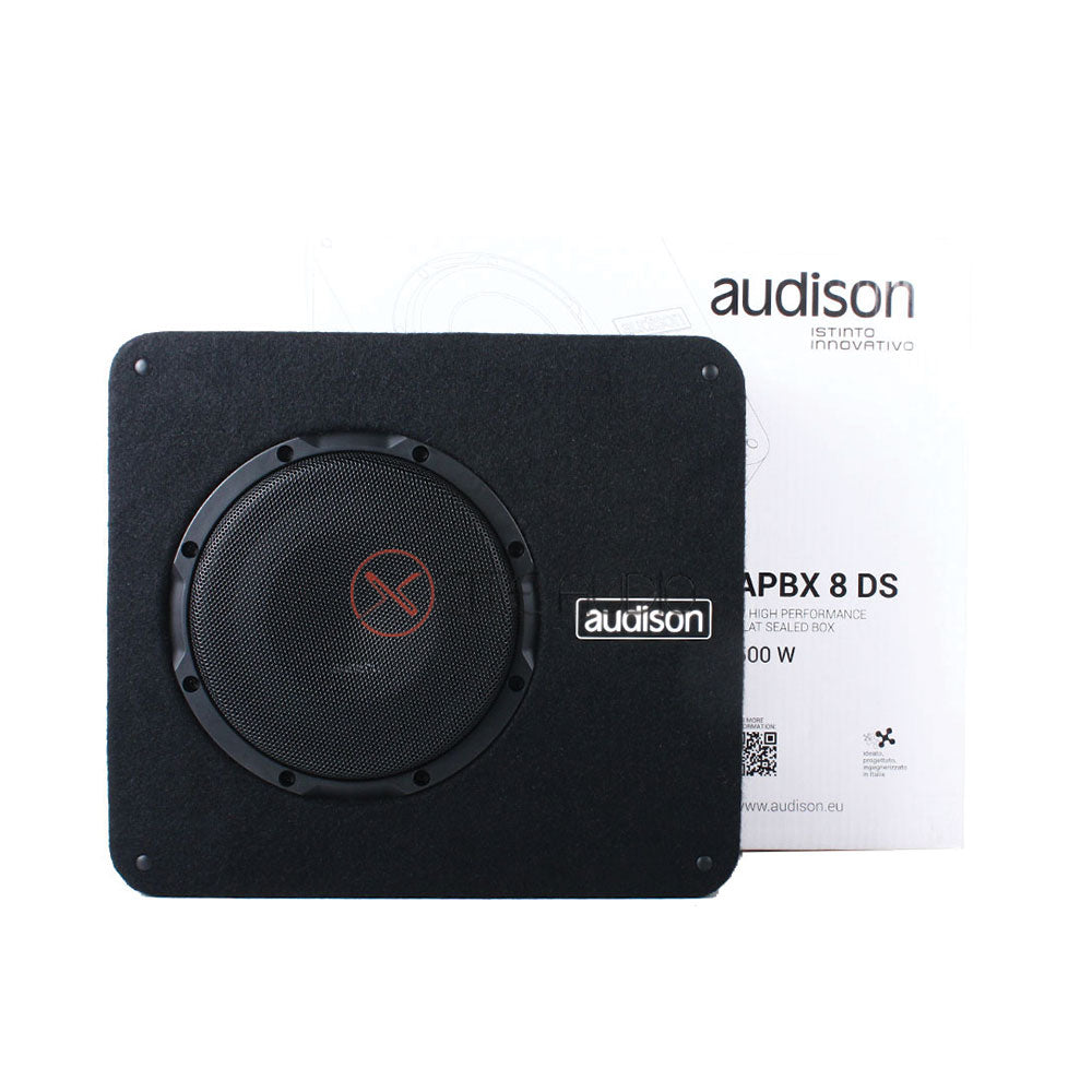 "Audison APBX 8 DS Prima Series 8"" (200mm) 500Watts Peak 4+4 Ohms Car Subwoofer"