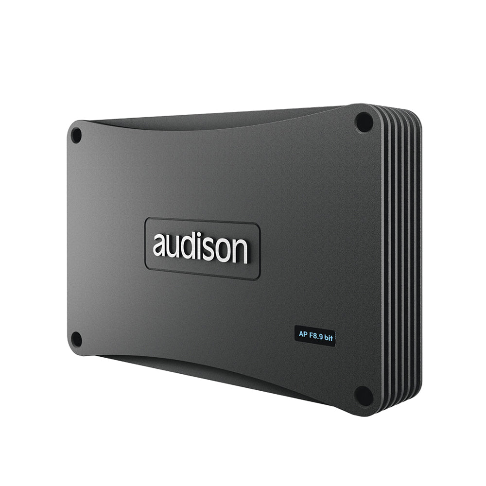 Audison Prima Series AP F8.9 bit 8 Channels 260Watts RMS Car Amplifier with Built-In 9 Channels Digital Sound Processor - Xcite Audio