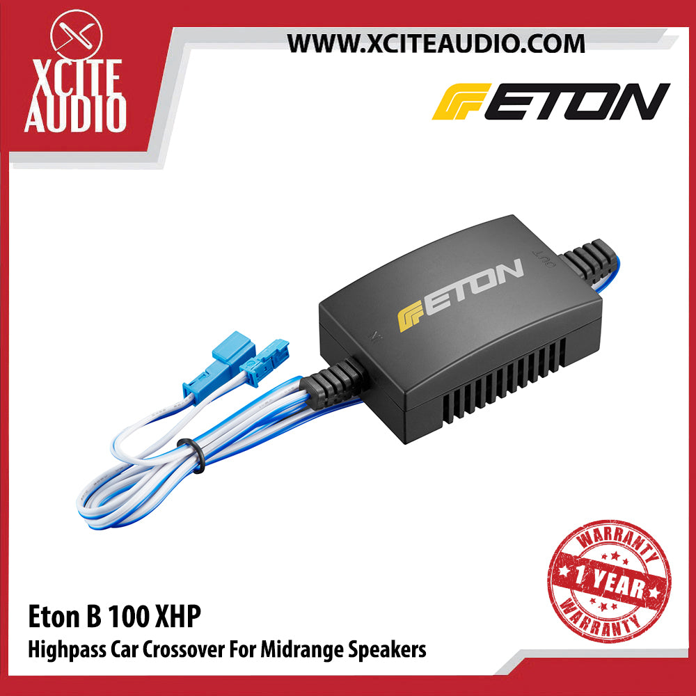 Eton B100XHP Highpass Car Crossover For Midrange Car Speakers (BMW Series) - Xcite Audio