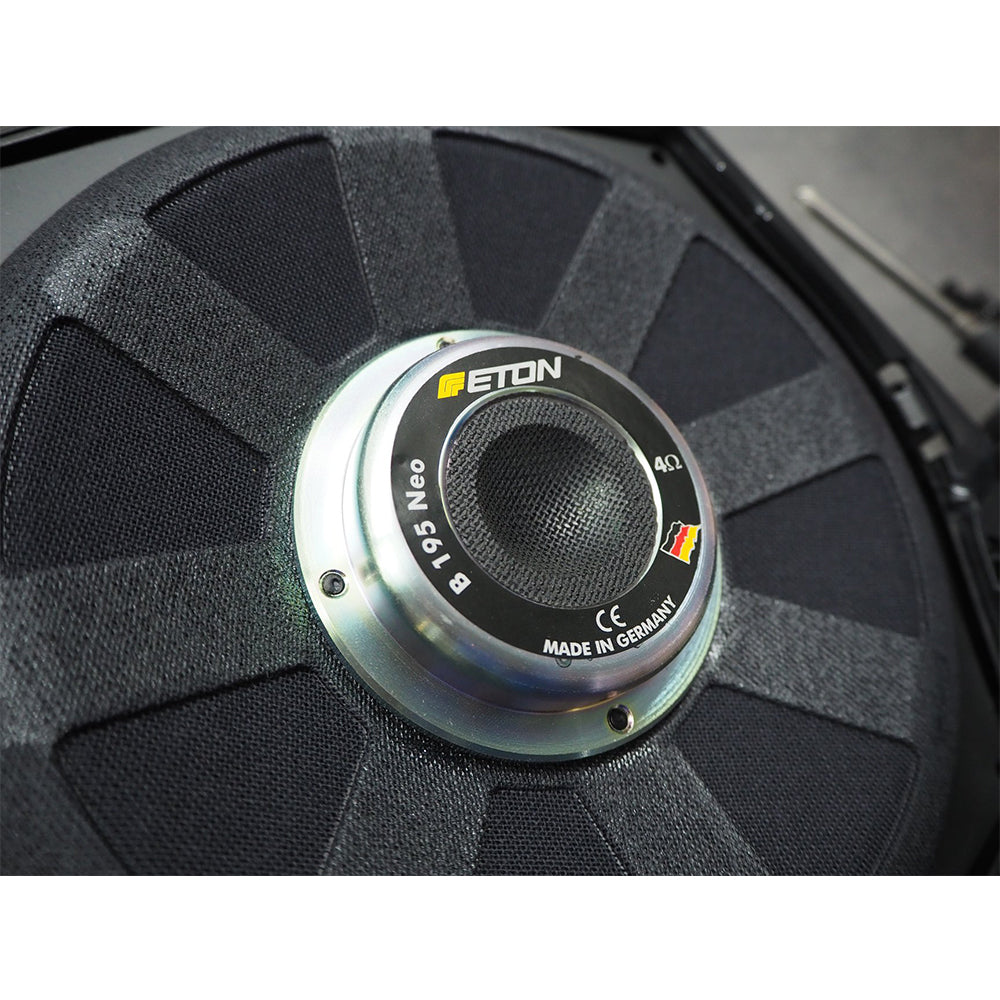 "Eton B195NEO 8"" 200Watts Plug & Play Underseat Car Subwoofer For BMW - Xcite Audio"