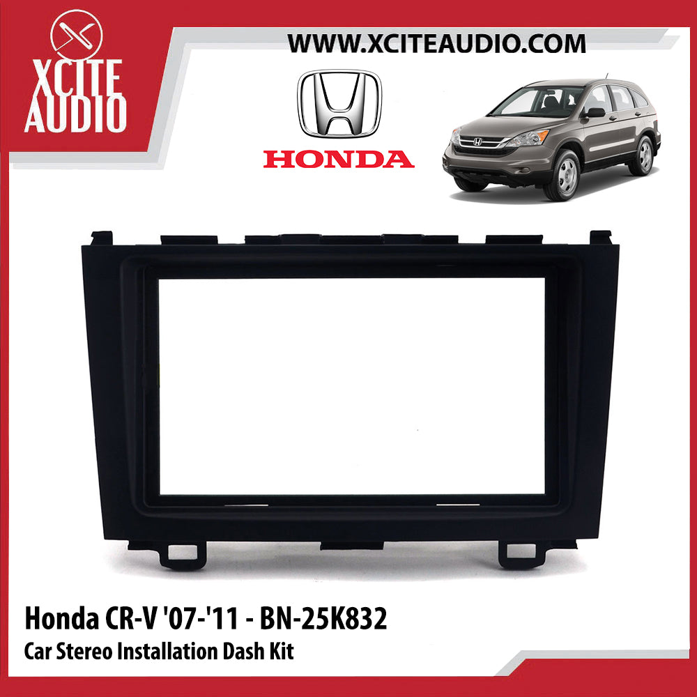 Honda CR-V CRV 2007-2011 BN-25K832 Double-Din Car Stereo Installation Dash Kit Fascia Kit Car Player Casing Mounting Kit - Xcite Audio