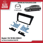 Mazda 3 2004-2009 BN-25K8431 Double-Din Car Stereo Installation Dash Kit Fascia Kit Car Player Casing Mounting Kit - Xcite Audio
