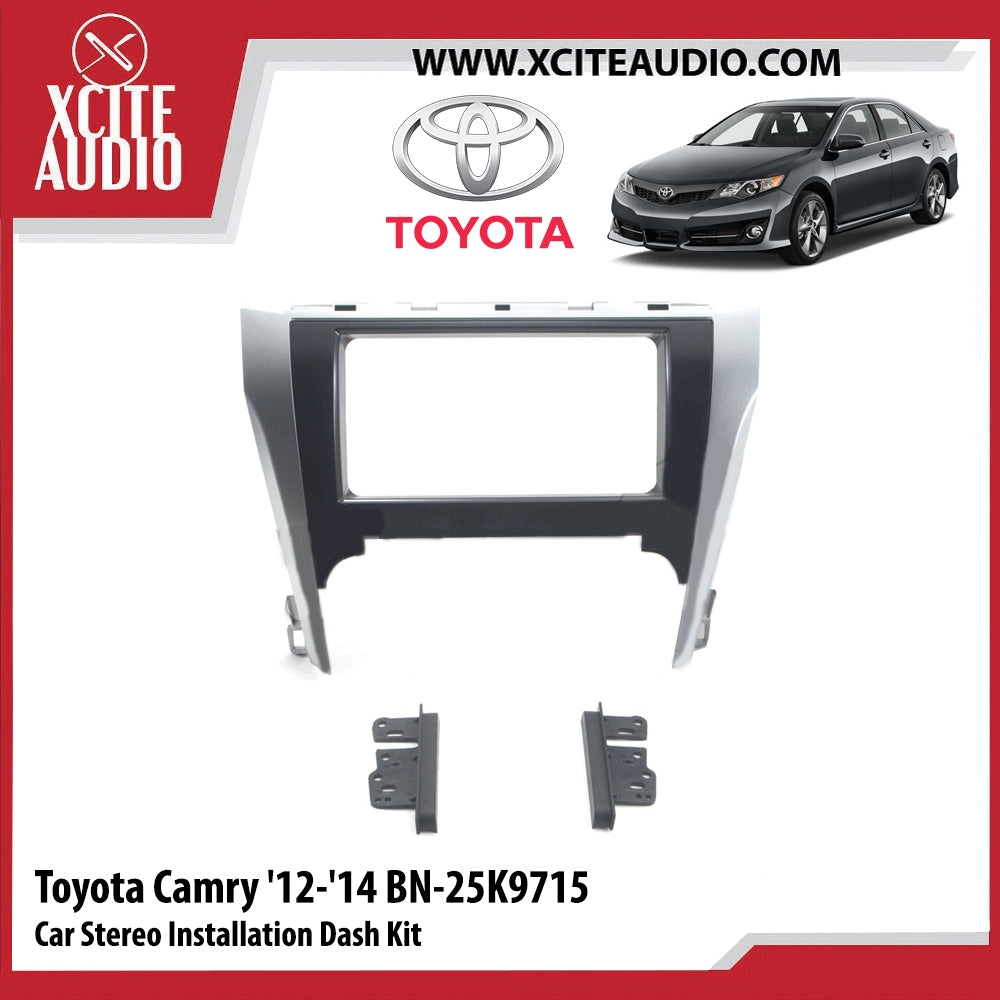 Toyota Camry 2012-2014 BN-25K9715 Double-Din Car Stereo Installation Dash Kit Fascia Kit Car Player Casing Mounting Kit - Xcite Audio