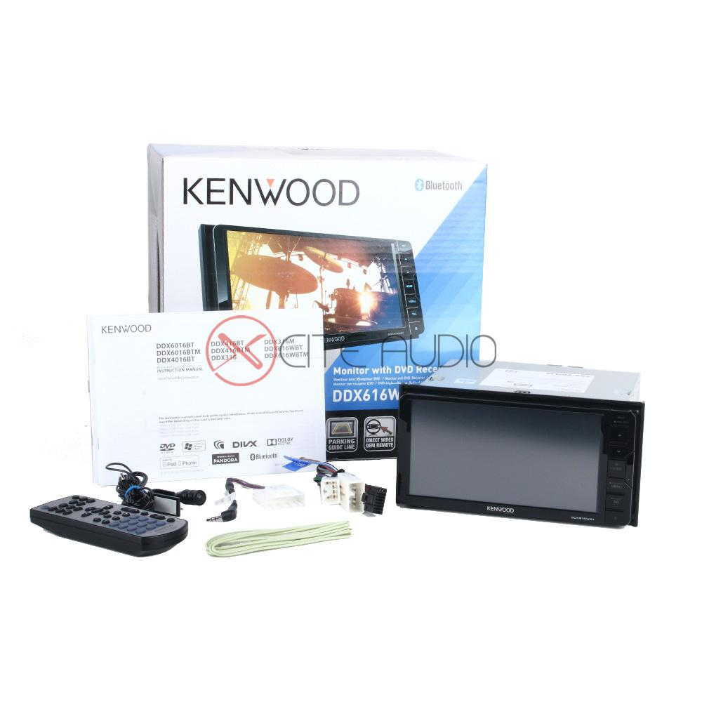 "Kenwood DDX616WBT 7"" Double-Din Car Headunit + Focal RSE-165 6.5"" 2-Way Component Car Speakers - Xcite Audio"