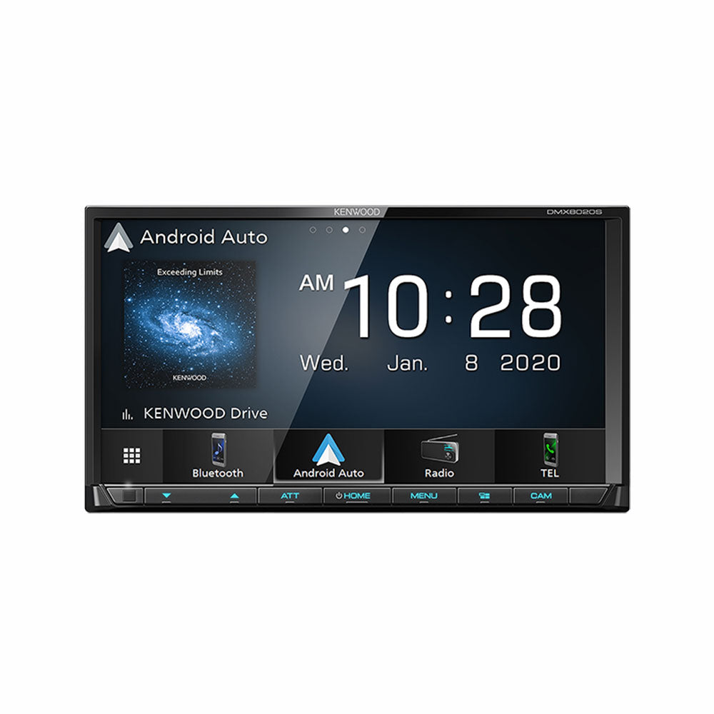 "Kenwood DMX8020S 7"" Digital Media Receiver with WVGA Display Car Headunit - Xcite Audio"