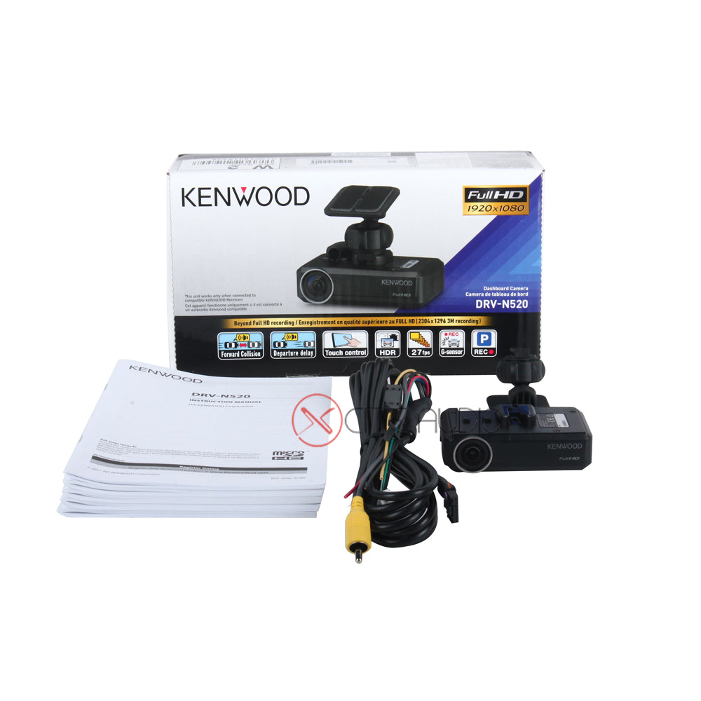Kenwood DRV-N520 Full HD Dashboard Camera / Drive Assist Camera FOC 8GB SD Card