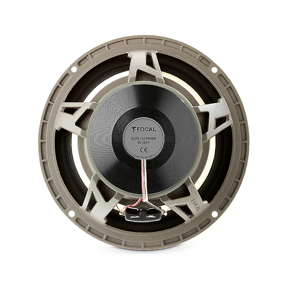 "Focal EC165K 6.5"" 160 Watts 2-Way 4 Ohms Coaxial Component Car Speakers - Xcite Audio"